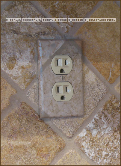 Phoenix Arizona Faux Finisher Outlet Cover