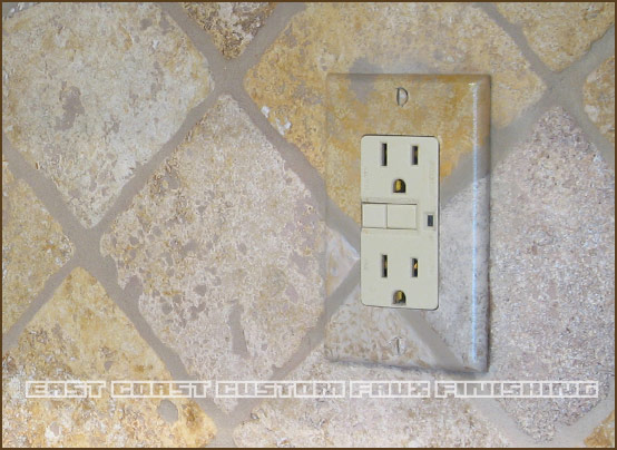 Phoenix Decorative Painting Outlet Cover