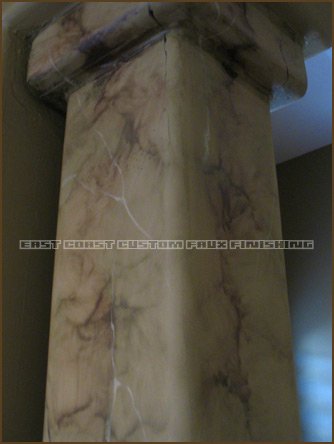 Marble Faux Finish 4