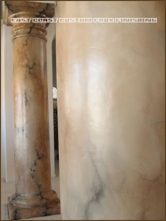 Marble Faux Finish 8
