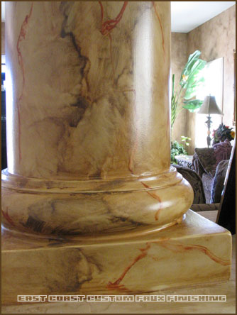 Marble Faux Finish 9